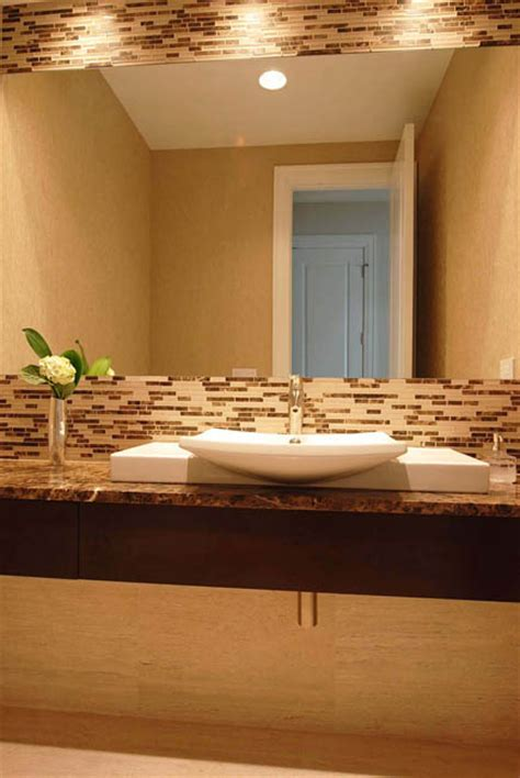adding a powder room bathroom remodeling chicago adding texture to your powder