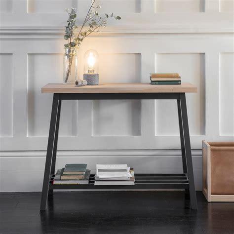 modern console table  hallway table  oak  beech wood