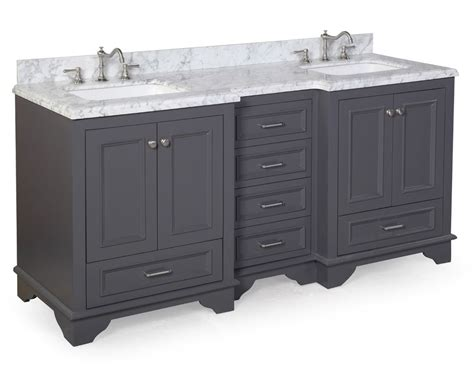 marble for bathroom vanity 72 quot luxury gray double sink bathroom vanity w carrara