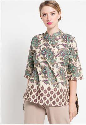 Dress Blouse Atasansexy Masih Bgus Bgt 20 model baju batik wanita danar hadi terbaru 2018 1000