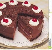 Torta De Chocolate Fotos Archivo Libres Regal&237as