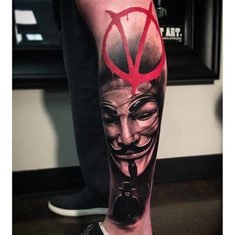 v for vendetta tattoo 12 revolutionary v for vendetta tattoos tattoodo