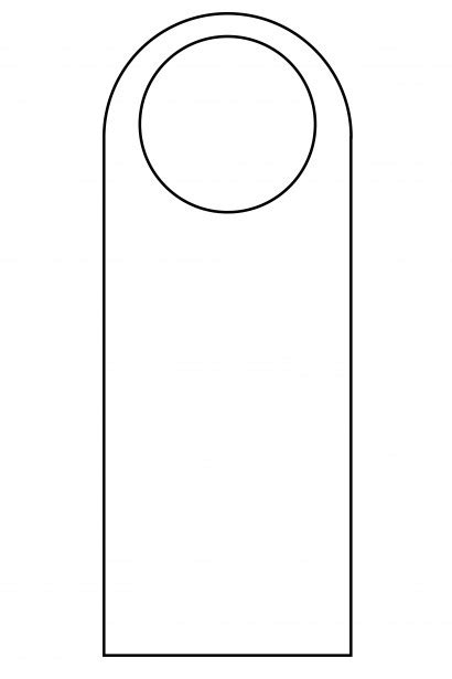 door knob template free printables paper and salem s lot on
