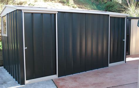 Large Shed Prices by Large Sheds Timber Colour Steel The Shed Shop