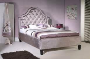 Velvet Bed Frame Limelight Charon 5ft Kingsize Mauve Velvet Fabric Bed Frame By Limelight Beds