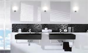 badezimmer schwarz weiss 33 dunkle badezimmer design ideen