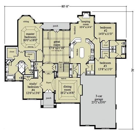3200 sq ft house plans house plan 957 00023 ranch plan 3 120 square feet 4
