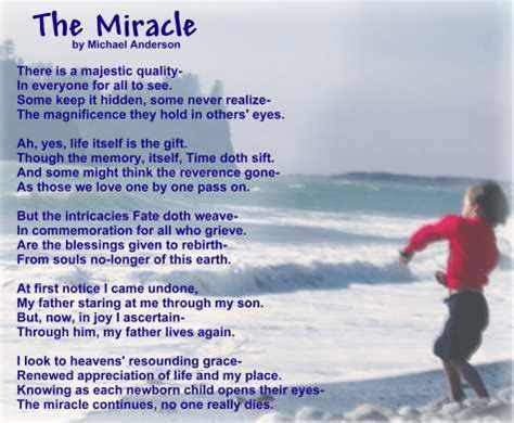 The Miracle Times Poetry Greeting Cards Poem On The Miracle