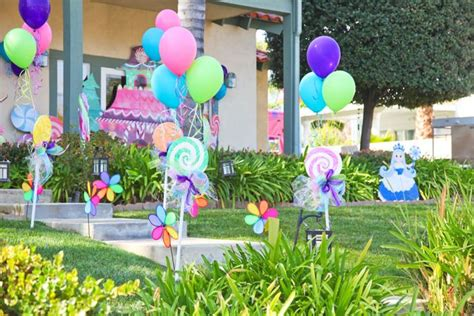 Candyland Decoration by Sweet Shop Yummiland Candyland Birthday Ideas