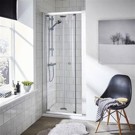 bathroom bi fold door ella bi fold shower door various size options at