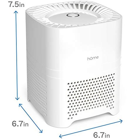 homelabs 3 in 1 ionic air purifier with hepa filter portable mini air purifier ionizer