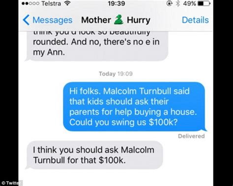 what questions should i ask when buying a new car malcom turnbull mocked on parent s loan