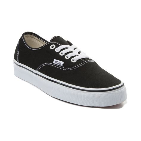 black skate shoes vans authentic skate shoe black 499281