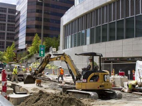 Light Rail Bellevue by Bellevue Light Rail Tunnel Sound Transit Wants To Avoid Disruptions Bellevue Wa Patch