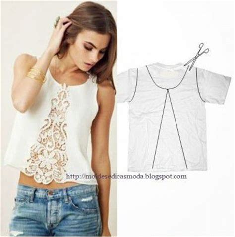 Della Hoodie Crop Sweater Fashion Basic Polos Wanita Okechuku 6 diy lace refashion t shirt ideas interestingfor me