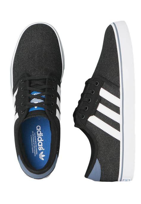 Adidas Running Black White adidas seeley black running white shoes impericon