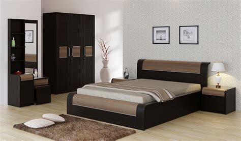 bedroom sets online india spacewood engineered wood bed side table wardrobe dressing table price in india buy