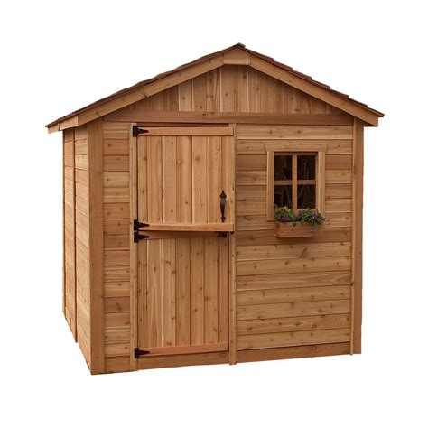 jardin ultra shed storage shed 32 cu ft fg3747swolvss canada discount