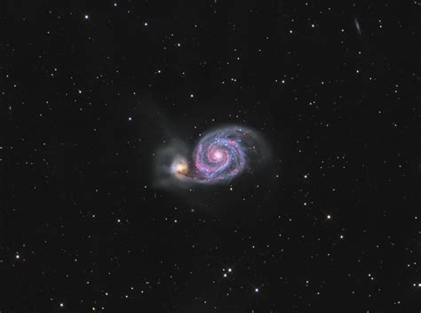 whirlpool galaxy m51 the whirlpool galaxy astrodoc astrophotography by