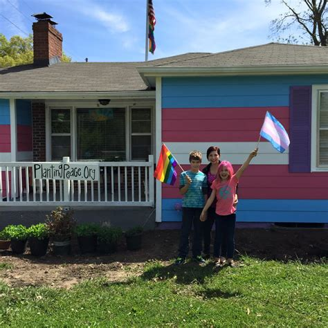 the equality house my little advocate makes a splash in her avery chat video trans parenting