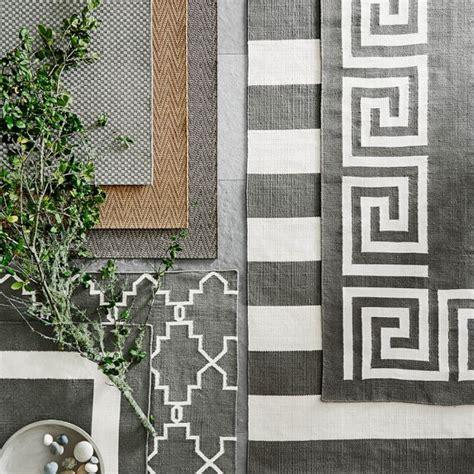 moroccan outdoor rug moroccan gate indoor outdoor rug gray williams sonoma