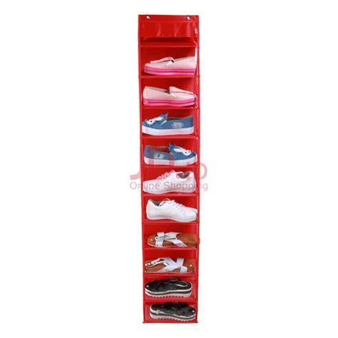 Harga Rak Sepatu Gantung Resleting jual radysa hanging shoe organizer rak sepatu gantung