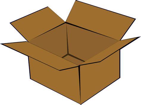 Cardboard Clipart cardboard box clip at clker vector clip