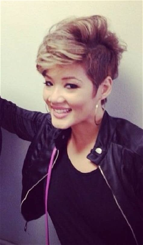 tessanne chin hairstyle tessanne chin the voice short hair hair beauty that