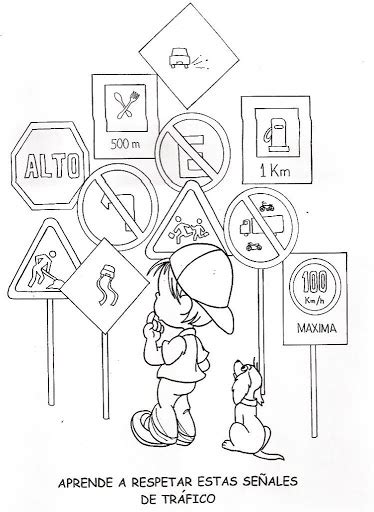 free street sign coloring pages