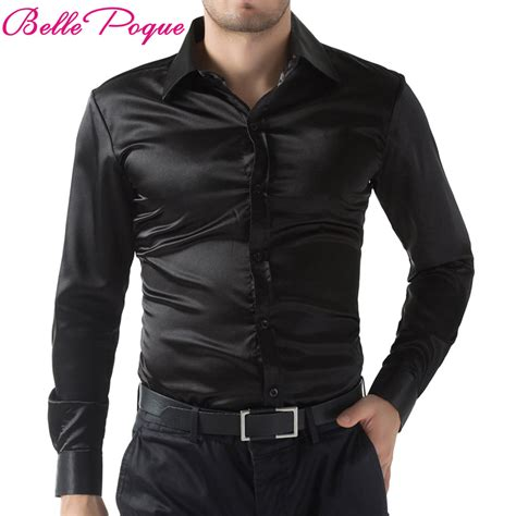 mens purple satin shirt promotion shop for promotional