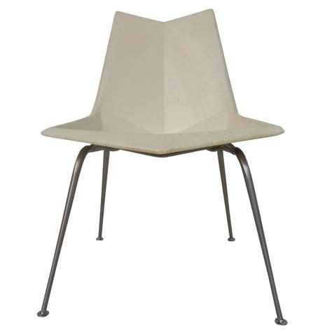 Paul Mccobb Origami Chair - 1950s paul mccobb fiberglass origami chair for sale at 1stdibs