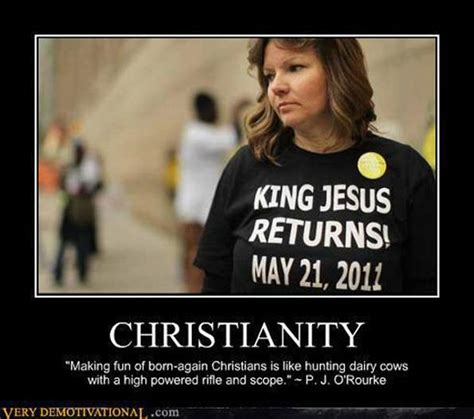 Born Again Christian Meme - this is not my strawman argument they actually believe