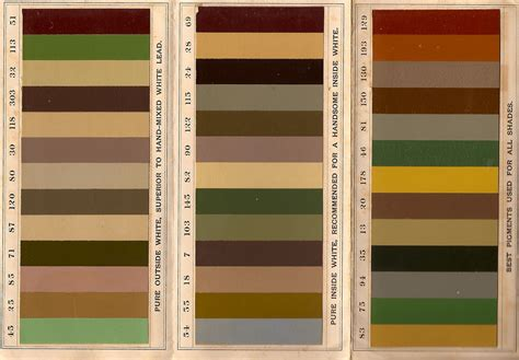 colors that match with brown the old house blog historic paint colors for the