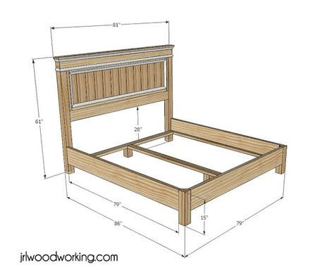 log bed frame plans woodworking projects plans