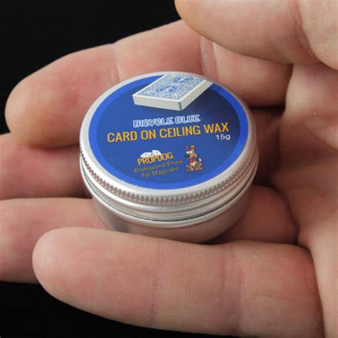 Ceiling Wax by Card On Ceiling Wax By Propdog Bicycle Blue 15g