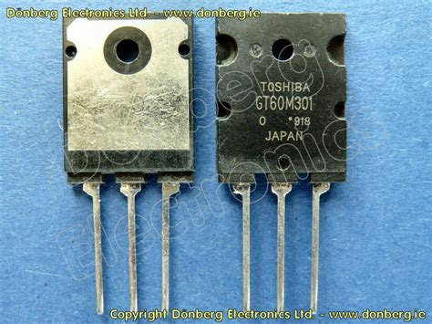 transistor g fet semiconductor gt60m301 gt 60m301 n channel mos fet transistor for