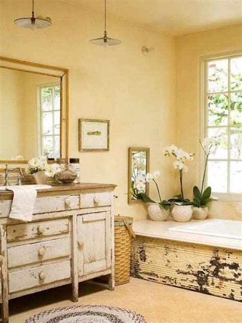 Country Style Bathroom Ideas Country Style Bathroom Pinterest