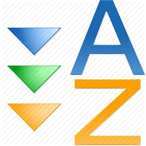 Acsending, assort, descending, order, sort a z, sorting ...