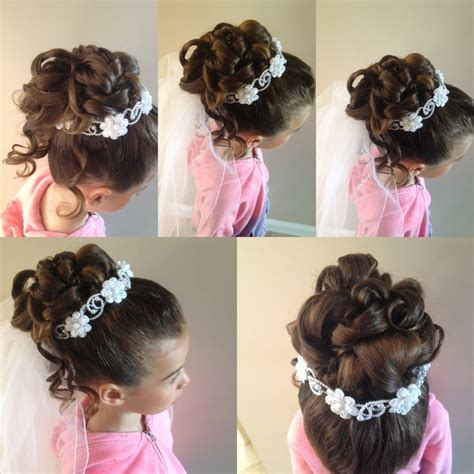 cute hairstyles for first communion 37159496e2650d96698872a4a795c821 jpg 736 215 736 holy