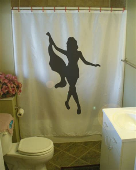 sexy curtains sexy girl shower curtain female lady woman take it off strip