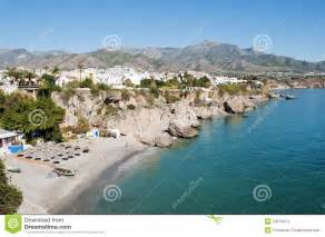 naturist holidays in andalucia spain costa del sol nerja beach andalusia spain stock images image 12073474
