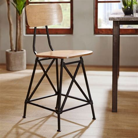 ink ivy lancaster bar stool overstock com shopping the ink ivy cooper counter stool by ink and ivy metals