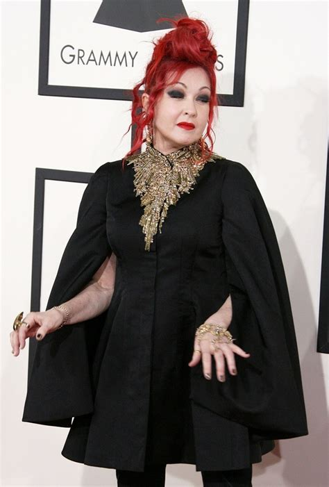 Grammy Awards Cyndi Lauper by Cyndi Lauper Picture 66 The 56th Annual Grammy Awards
