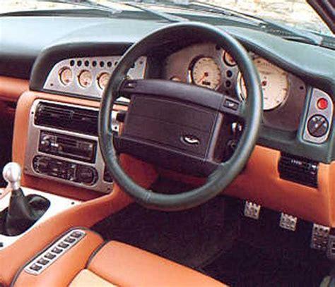 vintage aston martin interior vantage