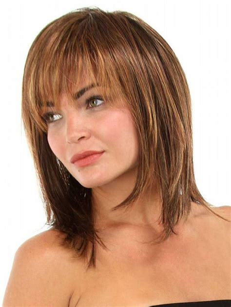 easy hairstyles without bangs best 25 medium hairstyles with bangs ideas on pinterest