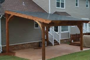 Free Standing Pergola On Patio by Blog