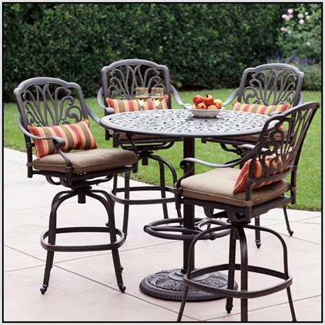 High Table Patio Set by Patio High Top Patio Table Set Home Interior Design