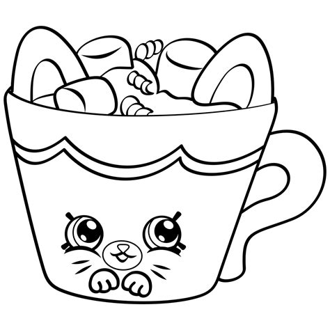 coloring pages shopkins free download 10 shopkins