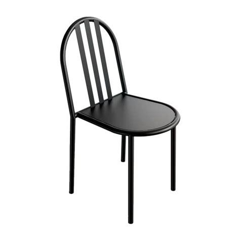 chaise metal noir mallet chaise en m 233 tal noir habitat