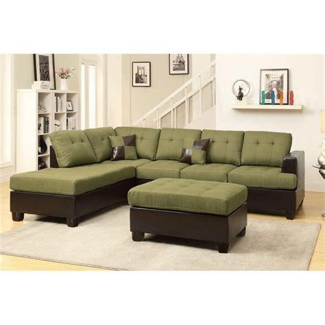 poundex bobkona winden 3 reversible sectional sofa